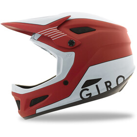Giro Disciple MIPS Cykelhjelm rød/hvid